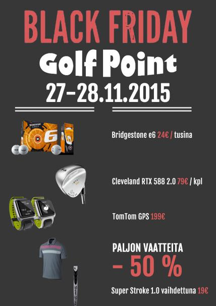 black friday golfpoint